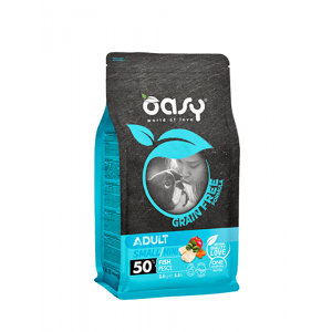 OASY GRAIN FREE Adult SMALL/MINI Ryba 2,5kg